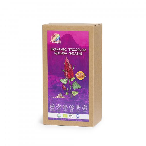 Tri-colors Quinoa Grains